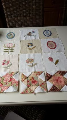 Stonefieldblokken Maand 4 #Klara #Quilts and More