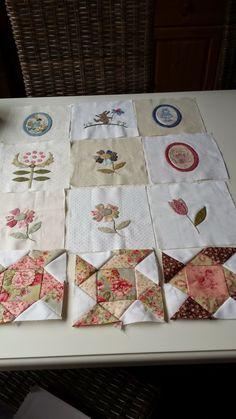Stonefieldblokken Maand 4 #Klara #Quilts and More