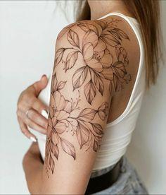 Dainty Tattoos, Dope Tattoos, Feminine Tattoos, Pretty Tattoos, Mini Tattoos, Beautiful Tattoos, Body Art Tattoos, Small Tattoos, Feminine Shoulder Tattoos