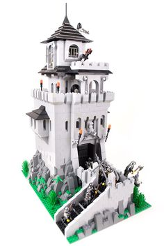 Undeads' Tower - Lego Castle Contest