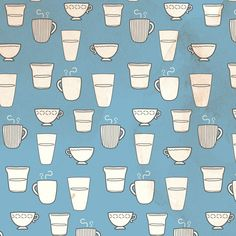 tea time by Marie Camblor, via Behance
