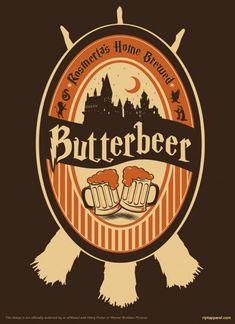 Harry Potter Home Brewed Butterbeer Shirt