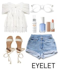 """Blue Jean Babe"" by glitteringbeast ❤ liked on Polyvore featuring Sea, New York, Levi's, Hollister Co., Apple & Bears, Essie and Marc Jacobs"