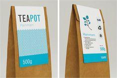Tea Packaging by Nadia Arioui