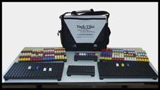 Tack-Tiles® Braille Systems are a sophisticated teaching tool for all ages based on LEGO®-type blocks.
