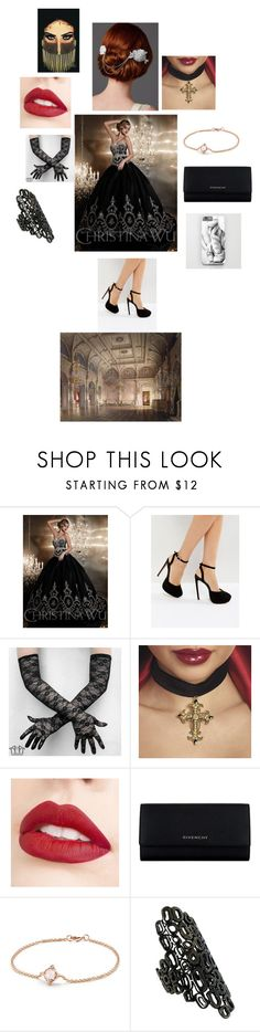 """Boyfriend?"" by rosemarieyoung ❤ liked on Polyvore featuring ASOS, Jouer, Givenchy, David Yurman and Repossi"