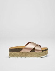 Mujer Sandalias Gel Pack 2 Tacón en Bloque Hebilla Tiras Retro Zapatos Nuevos