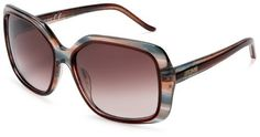 Just Cavalli Women's JC257 Oversized Sunglasses,Brown Striped Green Frame/Gradient Brown Lens,one size Just Cavalli. $144.99. 100% UV protection coating. Lens height: 50 millimeters. Lens width: 58 millimeters. Case included. Resin frame. Bridge: 12 millimeters. Arm: 130 millimeters. Plastic lens