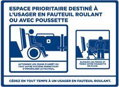 Procédure d'embarquement des personnes en fauteuil roulant et à mobilité réduite à la STO: Société de transport de l'Outaouais.