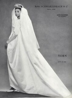 Yorn dress, photographed by Louis Astre, 1962
