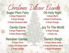 Items similar to Christmas Diffuser Blends Postcard 3 on Etsy Essential Oils Guide, Essential Oil Uses, Doterra Essential Oils, Young Living Essential Oils, Essential Oil Christmas Blend, Essential Oil Diffuser Blends, Aromatherapy Oils, White Christmas, Christmas Tree