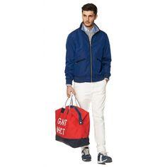 NEW HAVEN 49 SAILING HOLDALL-BAG fra GANT. Om denne nettbutikken: http://nettbutikknytt.no/gant/
