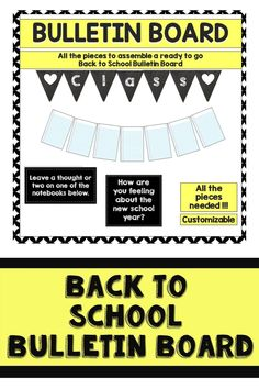 Back to School ideas for teachers for their classroom! Welcome back to school after the summer with this fun, fall, colorful bulletin board. This will let you daily showcase student work, ideas, and more! It's perfect for the beginning of the year as it's interactive and perfect for elementary. Colorful Bulletin Boards, Teacher Bulletin Boards, Reading Bulletin Boards, Back To School Bulletin Boards, Welcome Back To School, Back To School Teacher, Going Back To School, Elementary Teacher, All About Me Activities