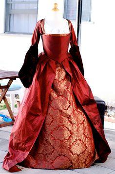 Gorgeous+Anne+Boleyn+Renaissance+Faire+Tudor+by+hermajestysboudoir,+$599.00