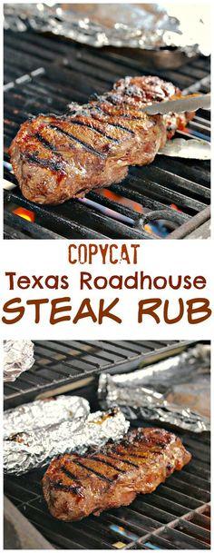 A simple combination of ingredients from this classic steakhouse that will bring. - A simple combination of ingredients from this classic steakhouse that will bring out the best flavo - Grilling Recipes, Beef Recipes, Cooking Recipes, Cake Recipes, Recipies, Vegan Recipes, Beef Tips, Healthy Grilling, Smoker Recipes