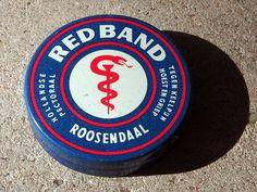 Red Band. Tegen keelpijn hoest en griep.