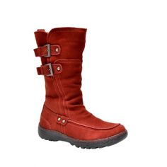 Arnold Churgin Shoes - SHERPA - (RED) - Boots
