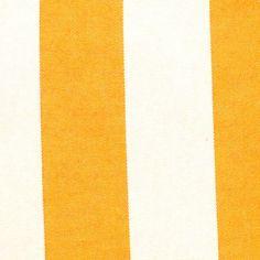 Markisenstoff Dekostoff Streifen in Gelb-Weiss
