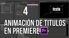 Animación de textos con Adobe Premiere | Koradi productions