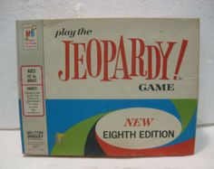 board game of Jeopardy!