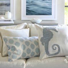 #Marine themed pillows