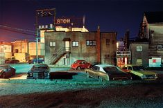 Ovaltine Cafe From 1972 to Greg Girard photographed Vancouver, Canada, his home town. Before Expo when the money moved in…