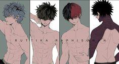 My heroic Academy / Boku_no_Hero_Academia - . Boku No Hero Academia, My Hero Academia Memes, Hero Academia Characters, My Hero Academia Manga, Anime Characters, Boys Anime, Hot Anime Boy, Cute Anime Guys, Villain Deku