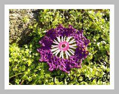 Tita Carré - Agulha e Tricot : Motivo Floral em crochet Vitória e um pouco da his...