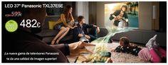 ¡La nueva gama Viera de Panasonic te da una calidad de imagen superior! http://www.esmio.es/blog/archives/4942