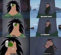 Dragon Ball Z and Emperor's New Groove