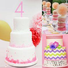 21 Girlie Birthday Cakes Full of Flowers and Frills