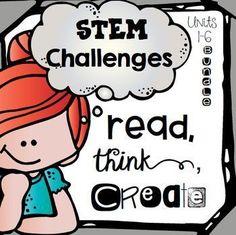 STEM Literature Based Makerspace Activities {1st grade Bundle}
