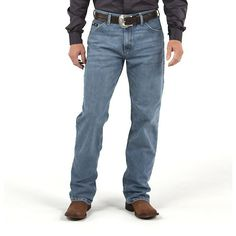 Wrangler Men's 20X Relaxed Jeans Cool Vantage (Size: