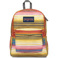 Jansport Superbreak Backpack- Discontinued Colors ($25) ❤ liked on Polyvore featuring bags, backpacks, school & day hiking backpacks, yellow, handle bag, jansport bags, day pack backpack, jansport backpack and knapsack bag