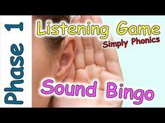 Listening Game - Phase 1 Phonics - Listening and Attention Skills Jolly Phonics, Phonics Games, Teaching Phonics, Phonics Videos, Vocabulary Games, Listening Games, Active Listening, Listening Skills, Phase 1 Phonics