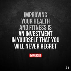 Improving your health and fitness