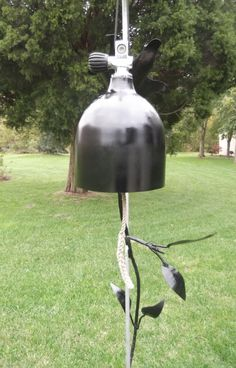 Scuba diving tank bell wind chime