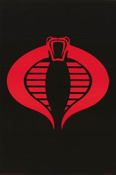 A great poster for all the Bad Guys out there - The Cobra logo from GI Joe! Fully licensed. Ships fast. 24x36 inches. Need Poster Mounts..? bm9958 suN nmr