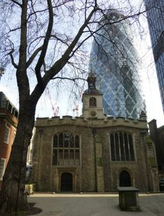 St. Helen Bishopsgate was William Shakespeare's parish church when he first came to London. It purportedly has the largest collection of monuments in Greater London with the exception of Westminster Abbey.