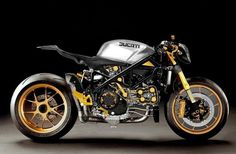 "Ducati 1098 Fighter: ""Black Fin""."