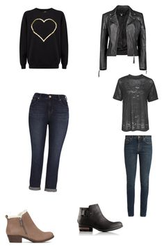 """""""Untitled #395"""" by bloodrose6 on Polyvore featuring Melissa McCarthy Seven7, Lucky Brand, Boohoo, Topshop, Yves Saint Laurent and SOREL"""