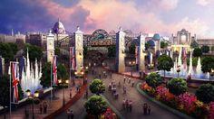 Cómo será el alucinante parque de diversiones que pretende destronar a Disney: En Kent, al sureste Londres, se lleva a cabo el Paramount…