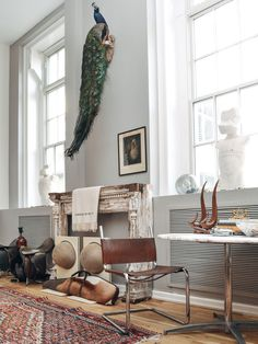 At Home With Michael Phillips Moskowitz: The Chief Curator of eBay invites us to his Soho home - a menagerie of rare collectables scoured online, alongside a growing collection of fine art. #TRNK