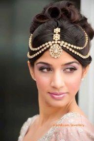 Beautiful Bridal Matha Patti, Discover more South Asian wedding inspiration www.shaadibelles.com