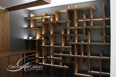 Contemporary Wine Cellar | The Cube by Genuwine Cellars