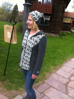 Luvjacka via Mimmi & Toras Handelsbod. www.mimmitora.com Merino Wool, Hat, Logs, Hats