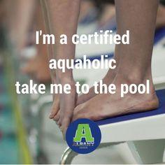 I am a total aquaholic...