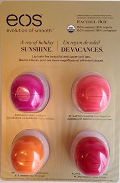 EOS Rachel Roy 2014 Holiday Lip Balm Limited Edition, 4 Flavor Gift Set EOS http://www.amazon.com/dp/B00OXG7QY0/ref=cm_sw_r_pi_dp_DlNGub1CQ50YM