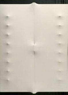 Enrico Castellani, 'Superficie bianca,' 1963, Stedelijk Museum Amsterdam