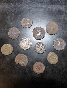 Archaeologists reveal saver's civil war stash and hoard hidden in final decades of Roman rule